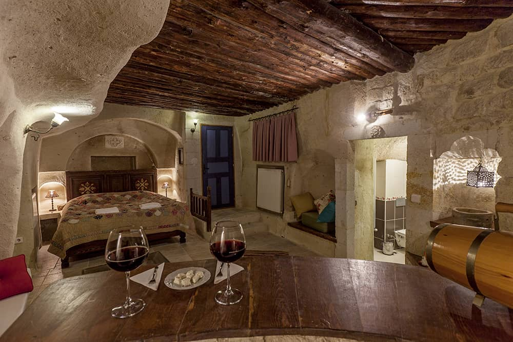 Underground Cave Room The Cappadocia Hotel